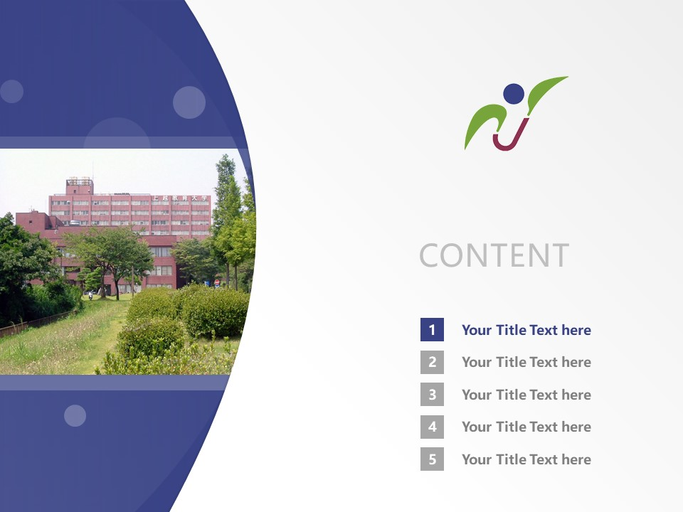 Joetsu University of Education Powerpoint Template Download | 上越教育大学PPT模板下载_幻灯片2