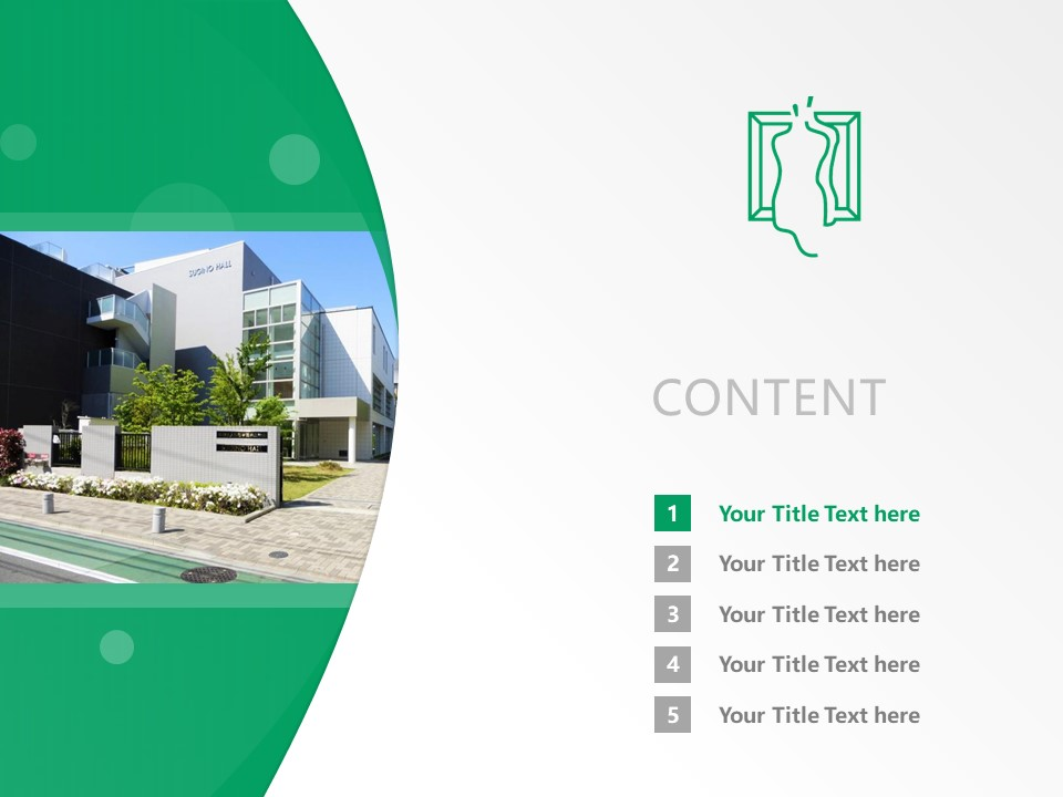 Sugino Fashion College Powerpoint Template Download | 杉野服饰大学PPT模板下载_slide2