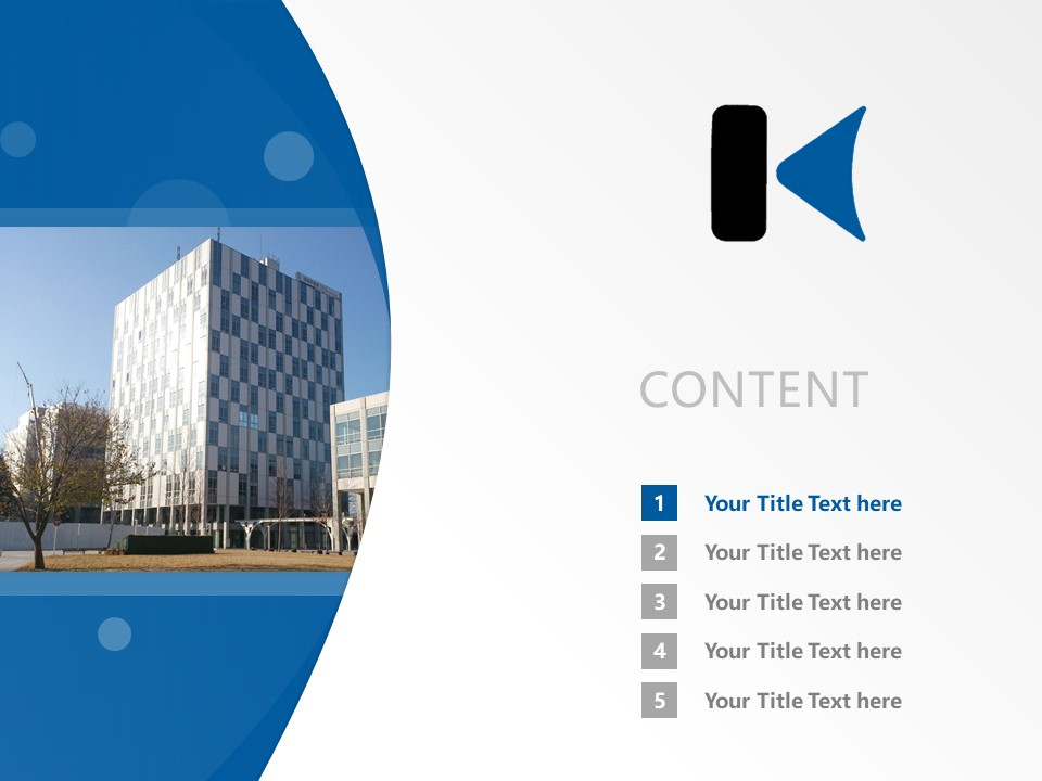 Kanagawa Institute of Technology Powerpoint Template Download | 神奈川工科大学PPT模板下载_slide2