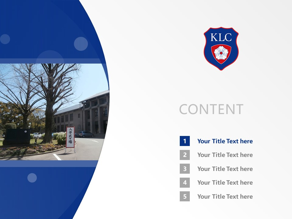 Kyushu Lutheran College Powerpoint Template Download | 九州路德学院大学PPT模板下载_幻灯片2