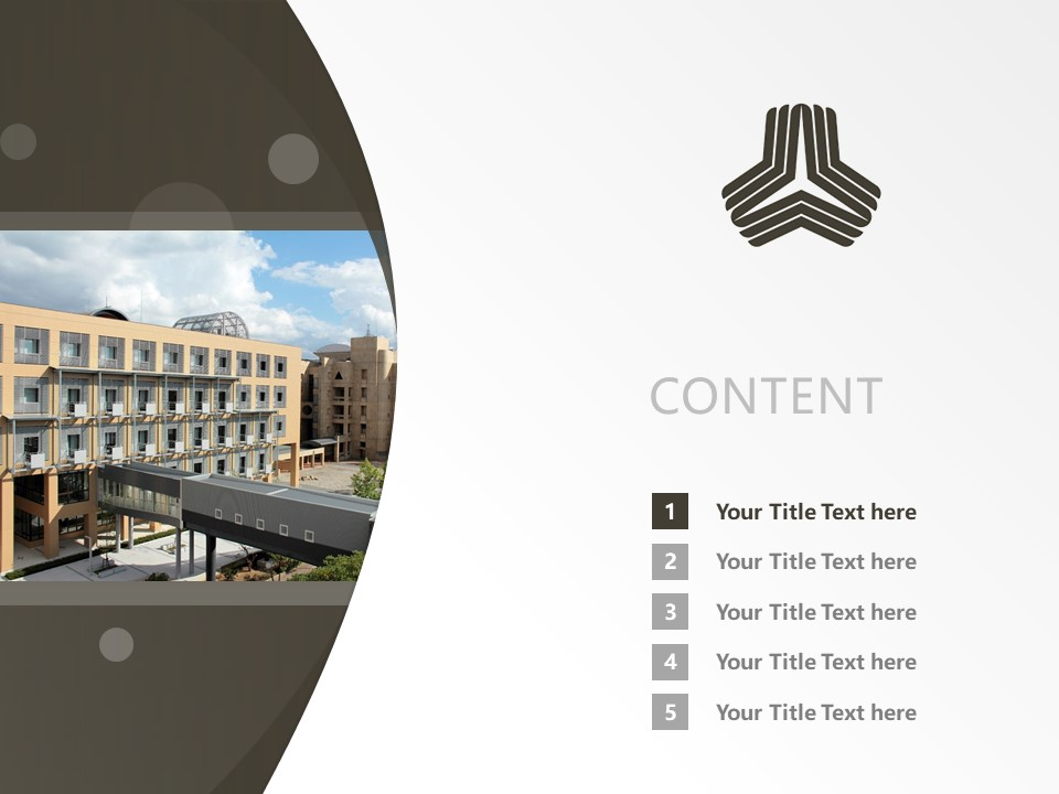 Kanazawa Institute of Technology Powerpoint Template Download | 金泽工业大学PPT模板下载_slide2