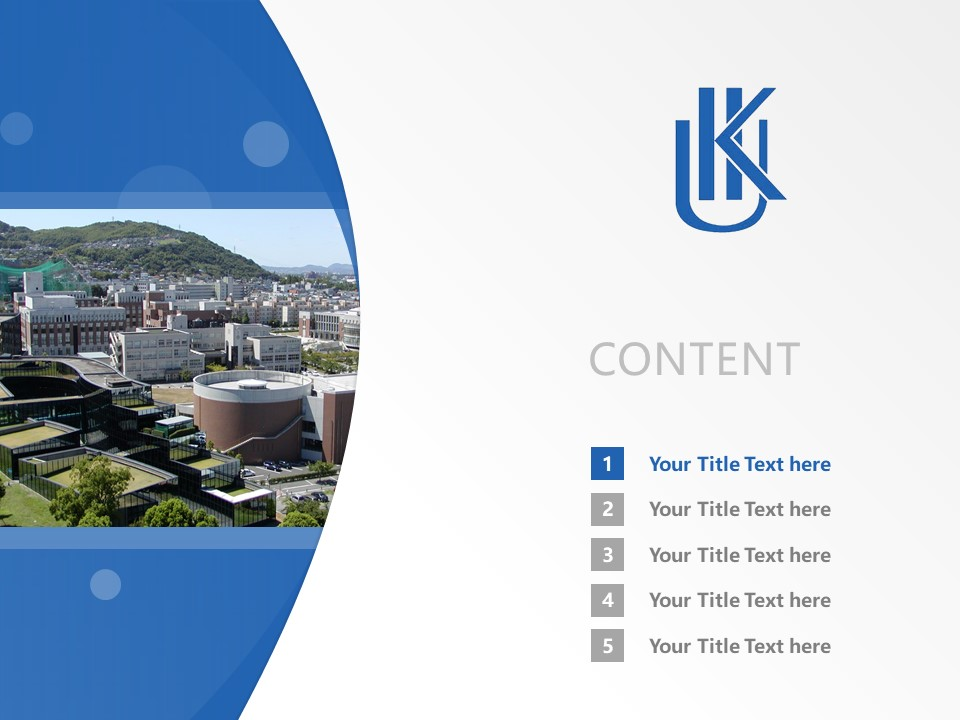 Kyushu International University Powerpoint Template Download | 九州国际大学PPT模板下载_幻灯片2
