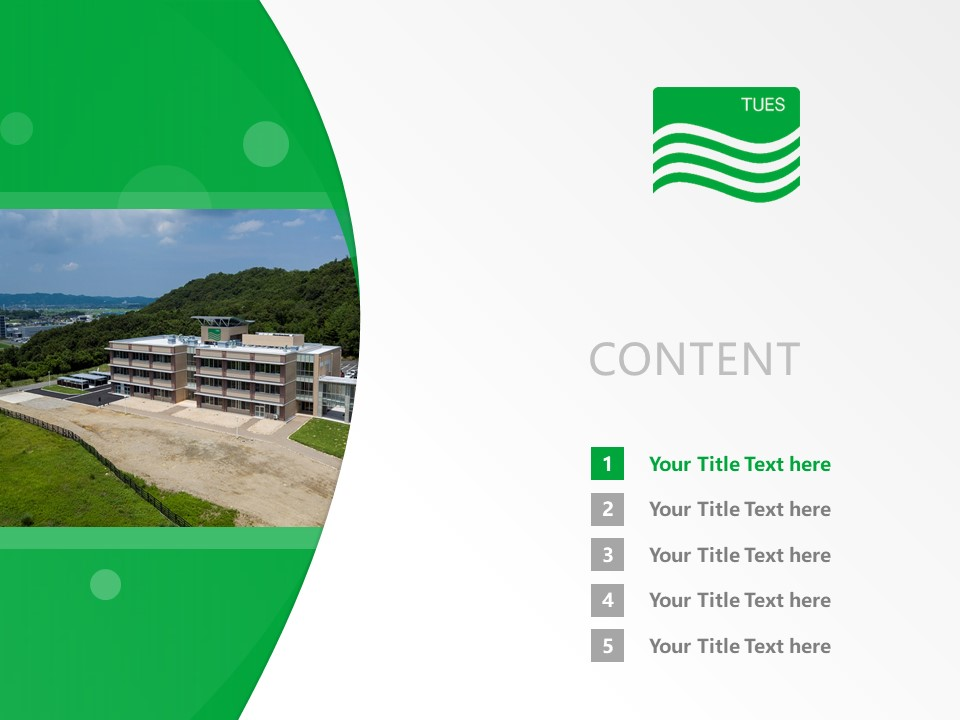 Tottori University Of Environmental Studies Powerpoint Template Download | 鸟取环境大学PPT模板下载_slide2