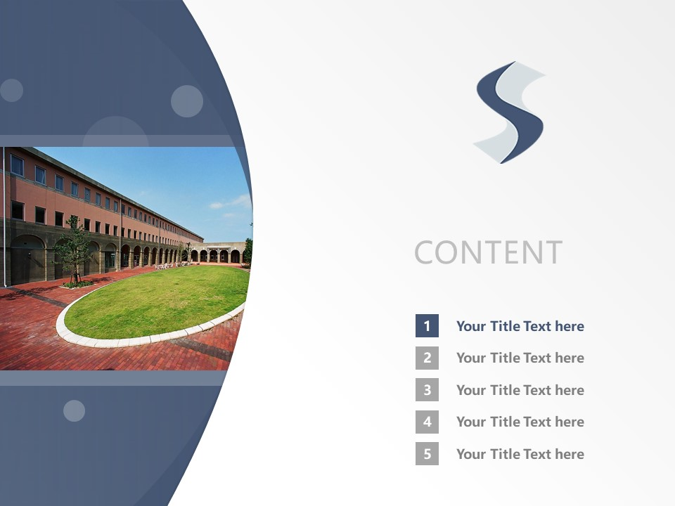 Suzuka International University Powerpoint Template Download | 铃鹿国际大学PPT模板下载_slide2
