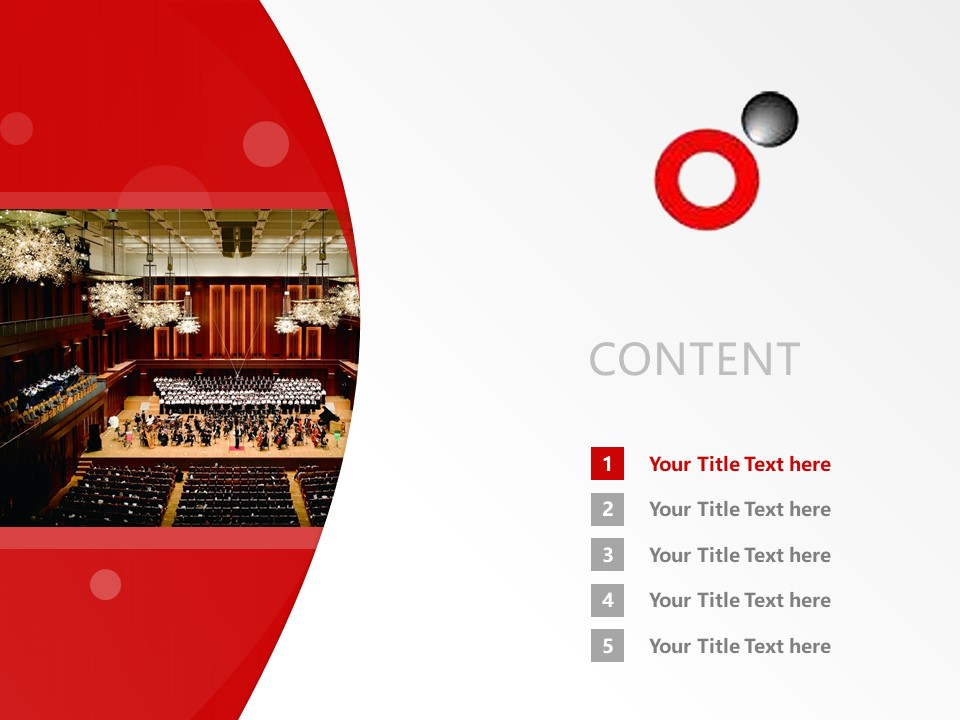 Heisei college of music Powerpoint Template Download | 平成音乐大学PPT模板下载_幻灯片预览图2