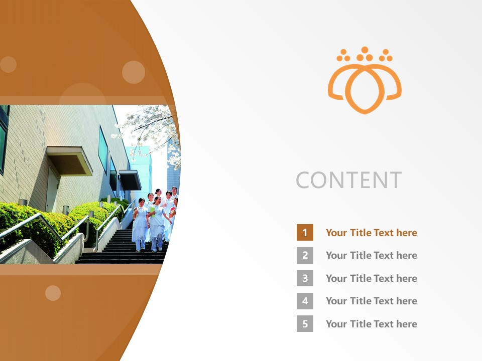 Tsurumi University Powerpoint Template Download | 鶴見大學PPT模板下載_幻燈片預覽圖2