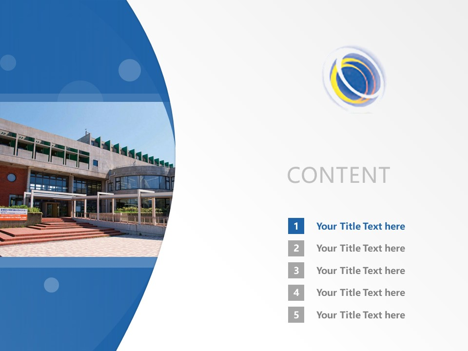 Kinjo University Powerpoint Template Download | 金城大学PPT模板下载_slide2