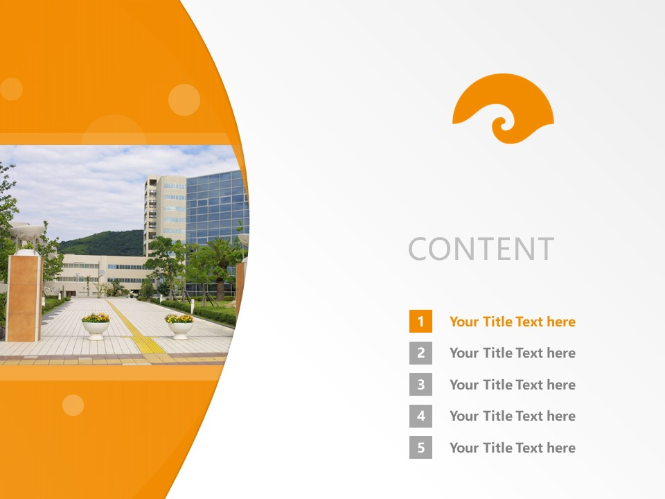 Wakayama University Powerpoint Template Download | 和歌山大学PPT模板下载_幻灯片2