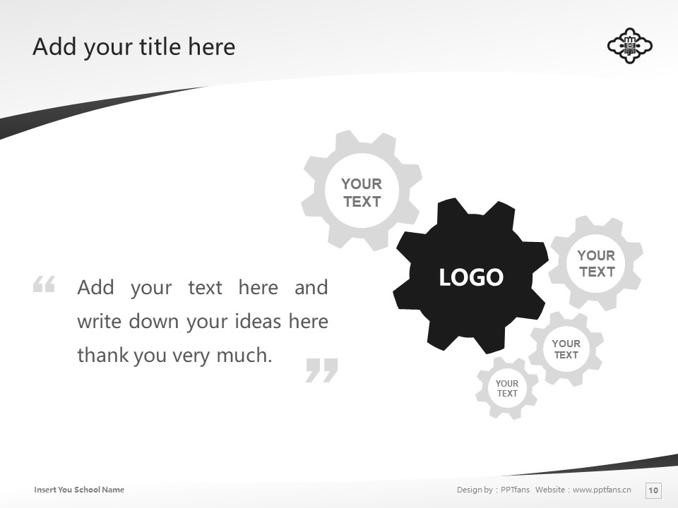 KOGAKKAN UNIVERSITY Powerpoint Template Download | 皇学馆大学PPT模板下载_slide10