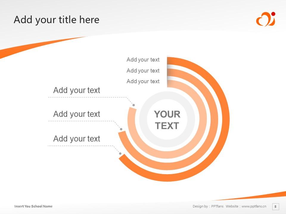 Mimasaka University Powerpoint Template Download   美作女子大学PPT模板下载_slide5