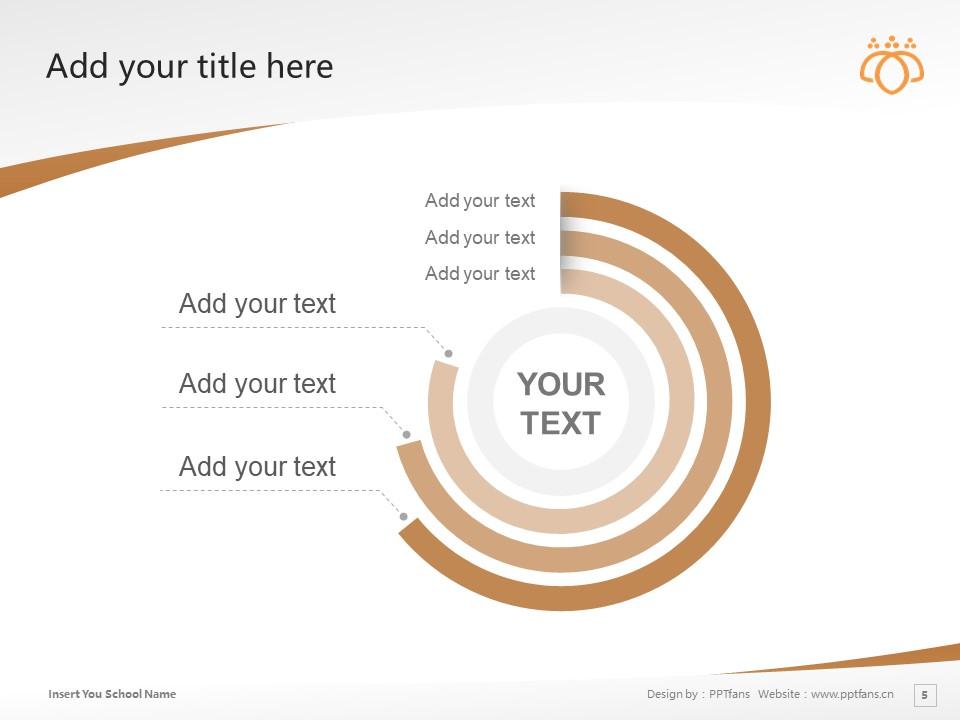 Tsurumi University Powerpoint Template Download | 鹤见大学PPT模板下载_slide5