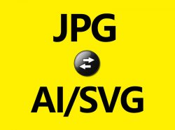 JPG转AI或SVG矢量图/LOGO标志临摹描图服务