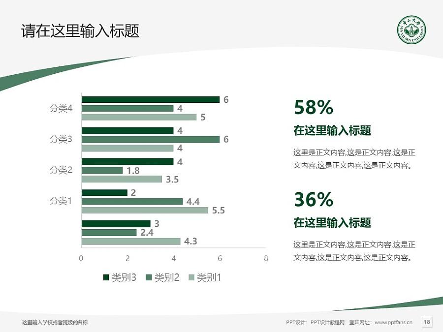 中山大学PPT模板下载_幻灯片预览图18