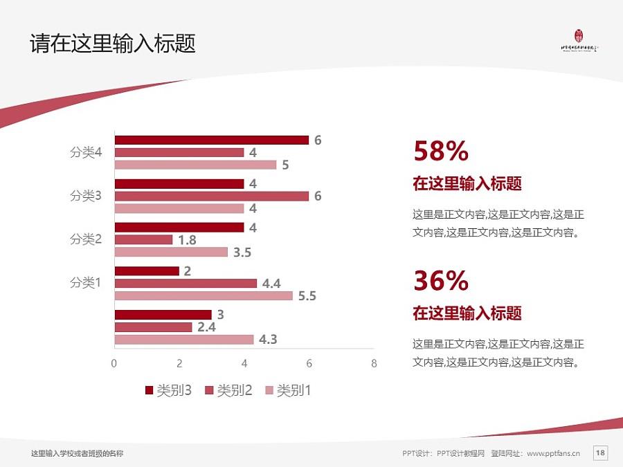 北京戏曲艺术职业学院PPT模板下载_幻灯片预览图18
