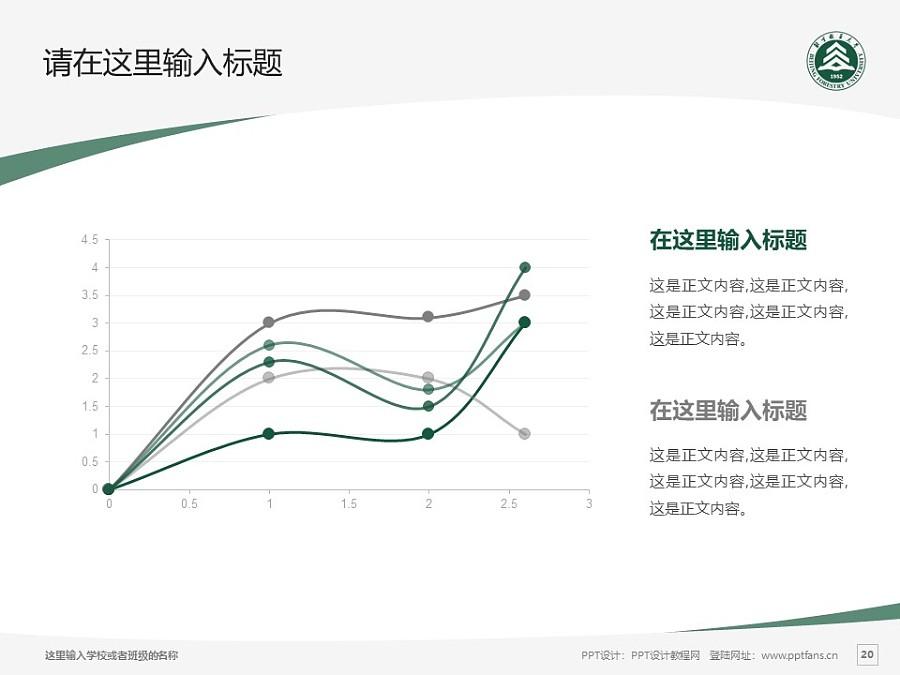 北京林业大学PPT模板下载_幻灯片预览图20