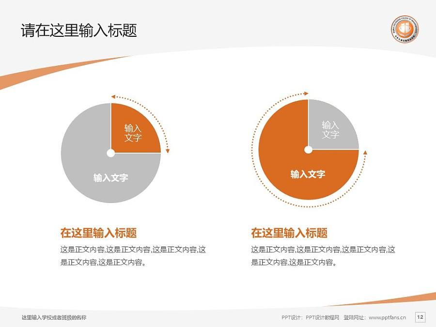 北京交通运输职业学院PPT模板下载_幻灯片预览图12