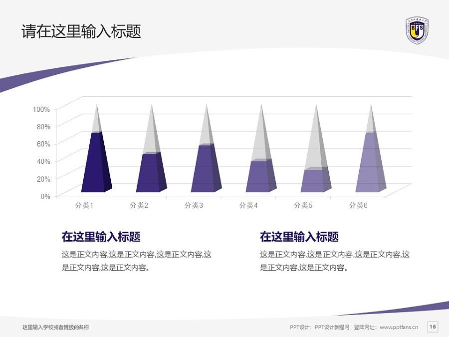 北京外国语大学PPT模板下载_幻灯片预览图16