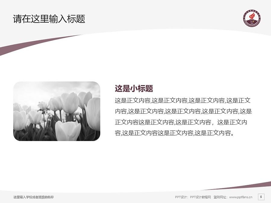 中山火炬职业技术学院PPT模板下载_幻灯片预览图5