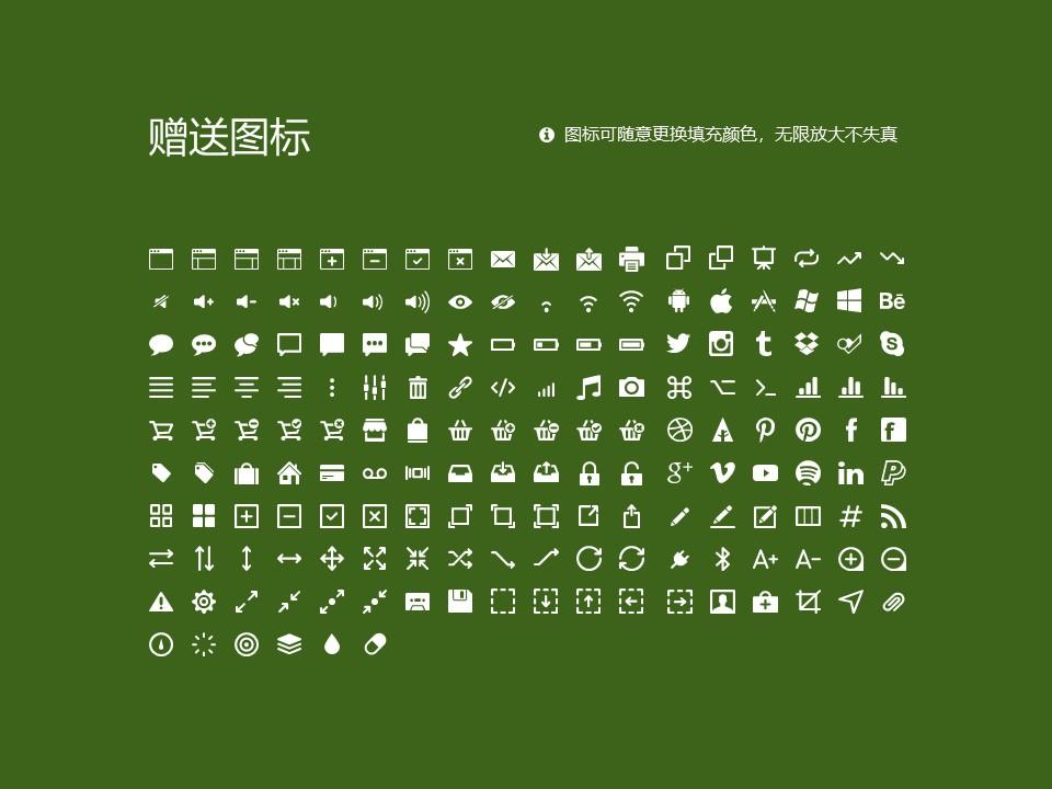 民办安徽旅游职业学院PPT模板下载_幻灯片预览图33