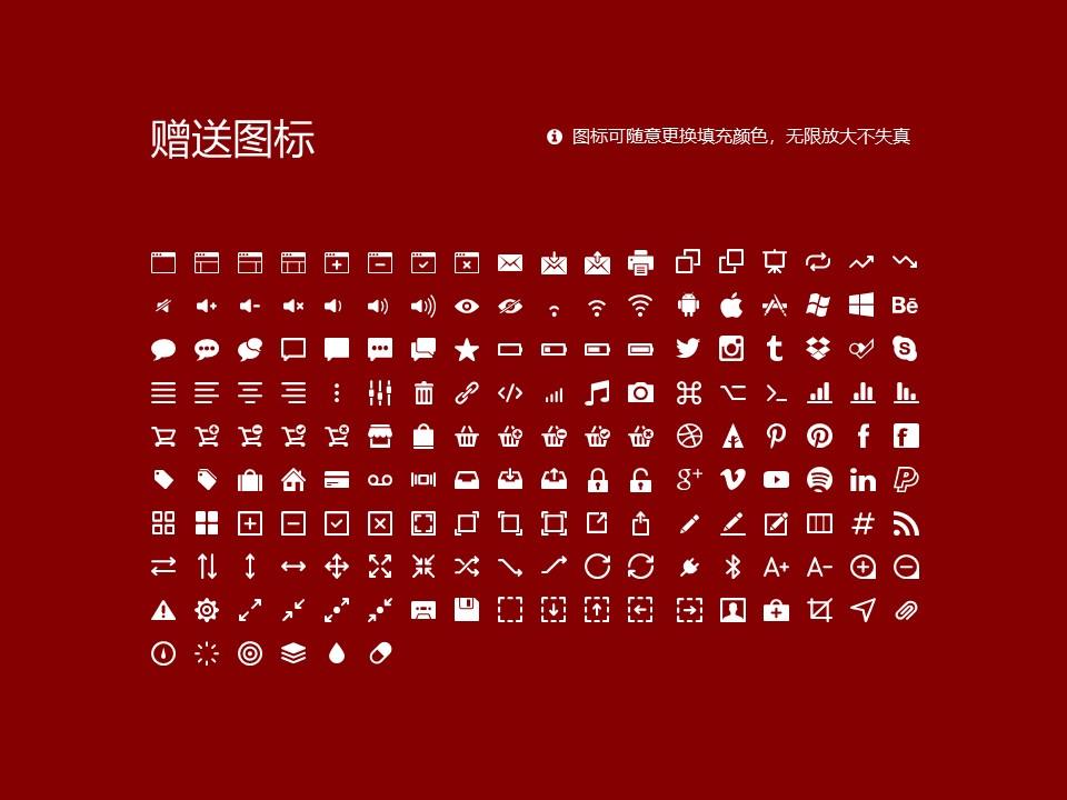民办合肥财经职业学院PPT模板下载_幻灯片预览图33