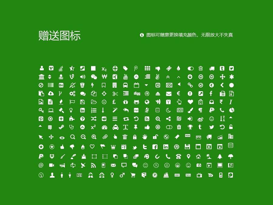 上海农林职业技术学院PPT模板下载_幻灯片预览图36