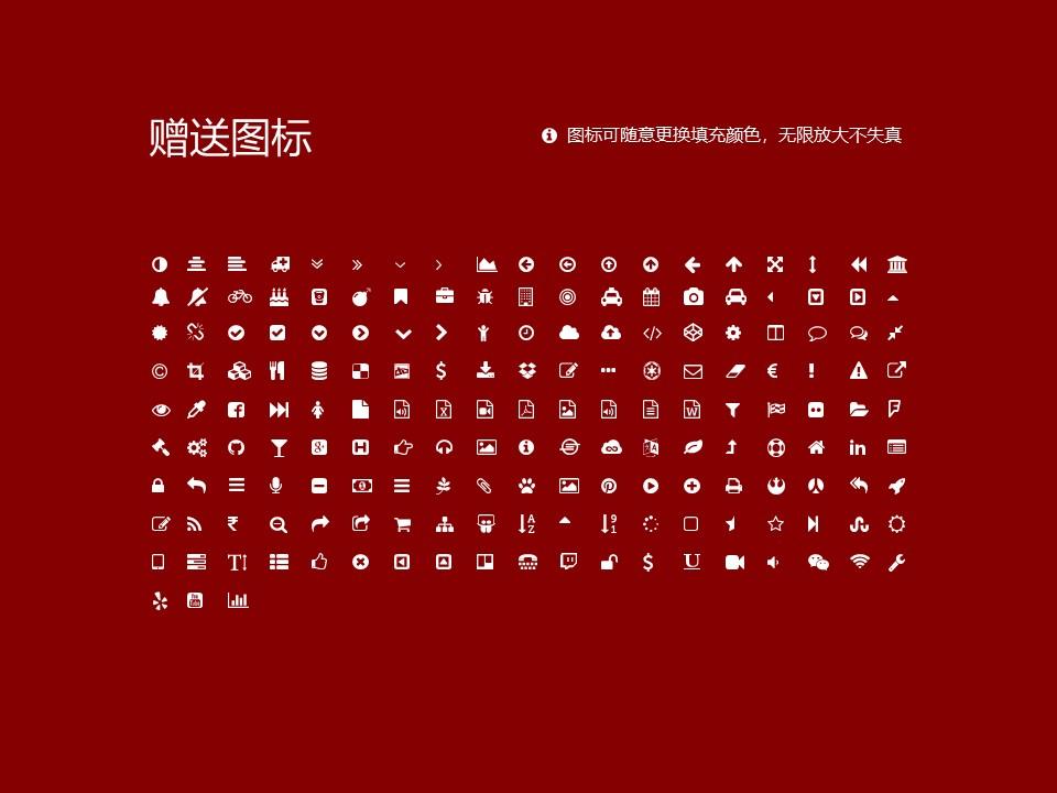 民办合肥财经职业学院PPT模板下载_幻灯片预览图35
