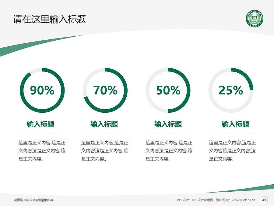 南京林业大学PPT模板下载_幻灯片预览图24