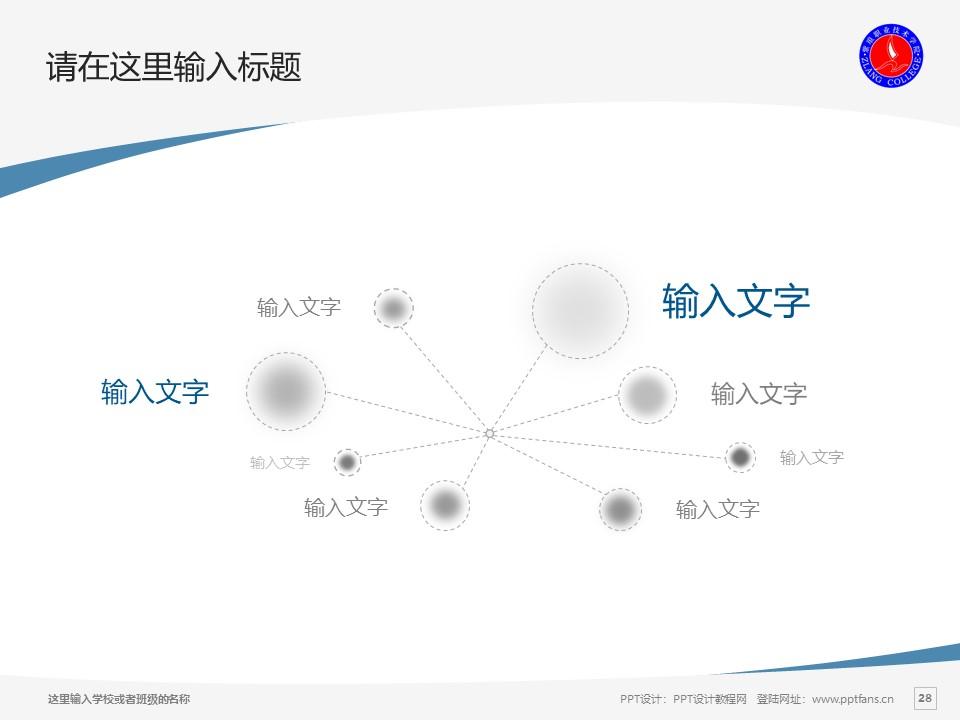 紫琅职业技术学院PPT模板下载_幻灯片预览图28