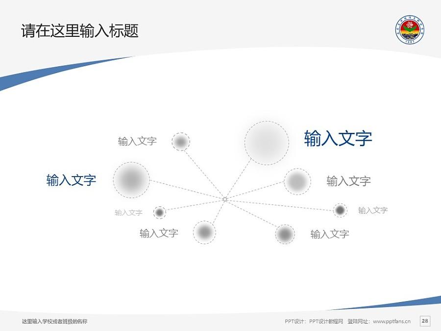 石家莊科技信息職業學院PPT模板下載_幻燈片預覽圖28