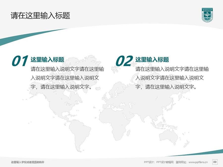 广东财经大学PPT模板下载_幻灯片预览图30