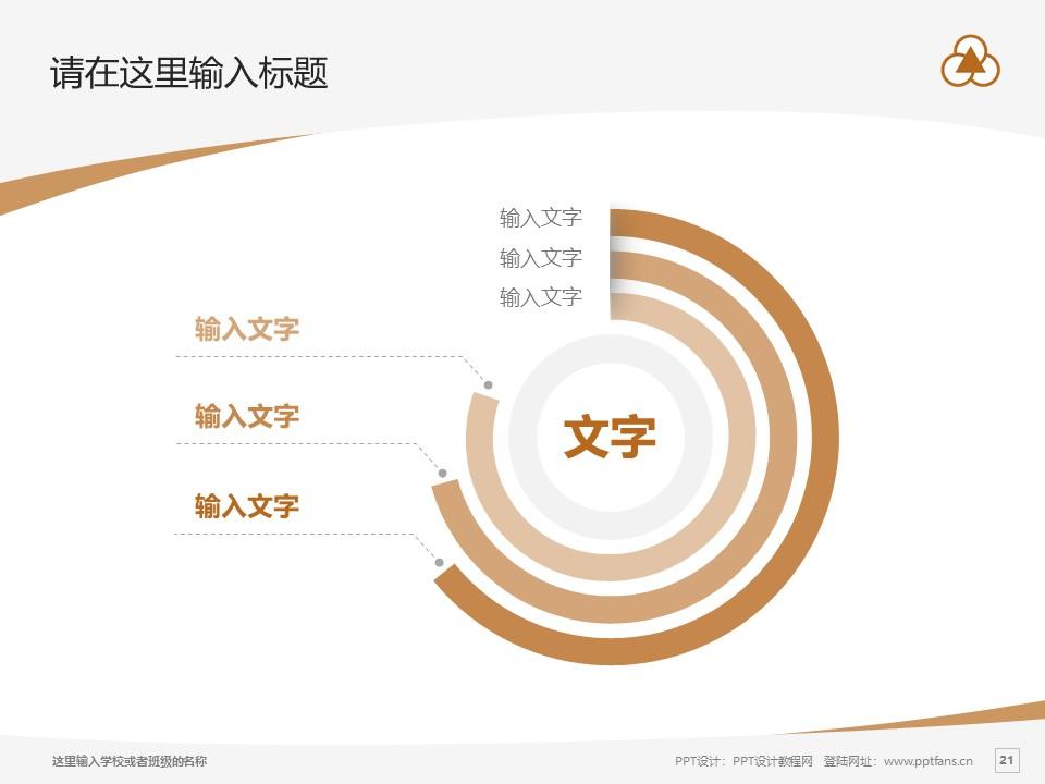 上海中华职业技术学院PPT模板下载_幻灯片预览图21
