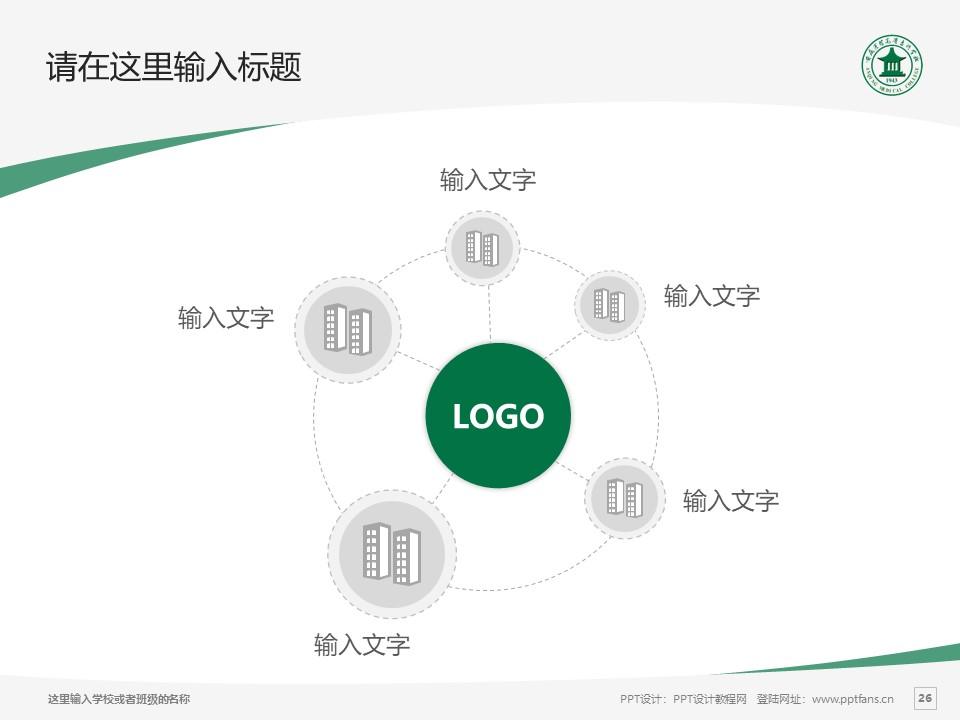 安庆医药高等专科学校PPT模板下载_幻灯片预览图26