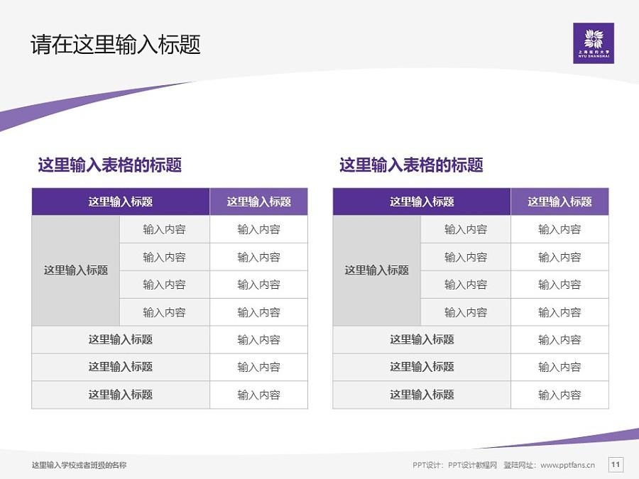 上海纽约大学PPT模板下载_幻灯片预览图11