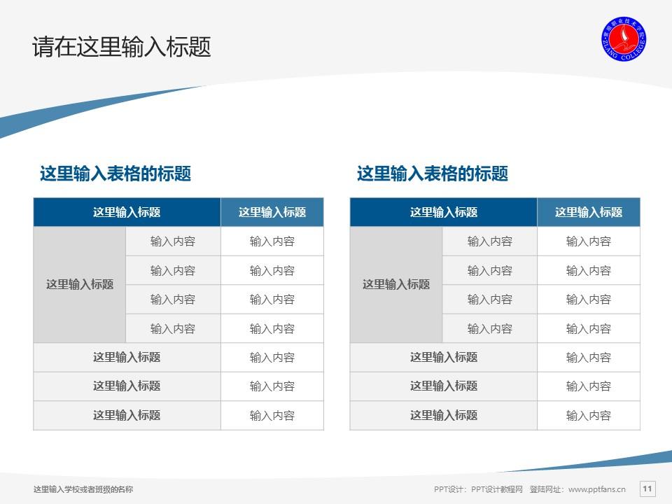 紫琅职业技术学院PPT模板下载_幻灯片预览图11