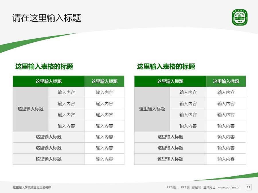 南京师范大学PPT模板下载_幻灯片预览图11
