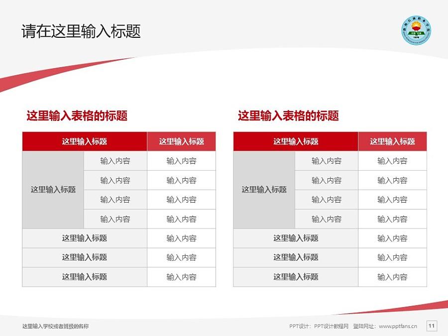 渤海石油职业学院PPT模板下载_幻灯片预览图11
