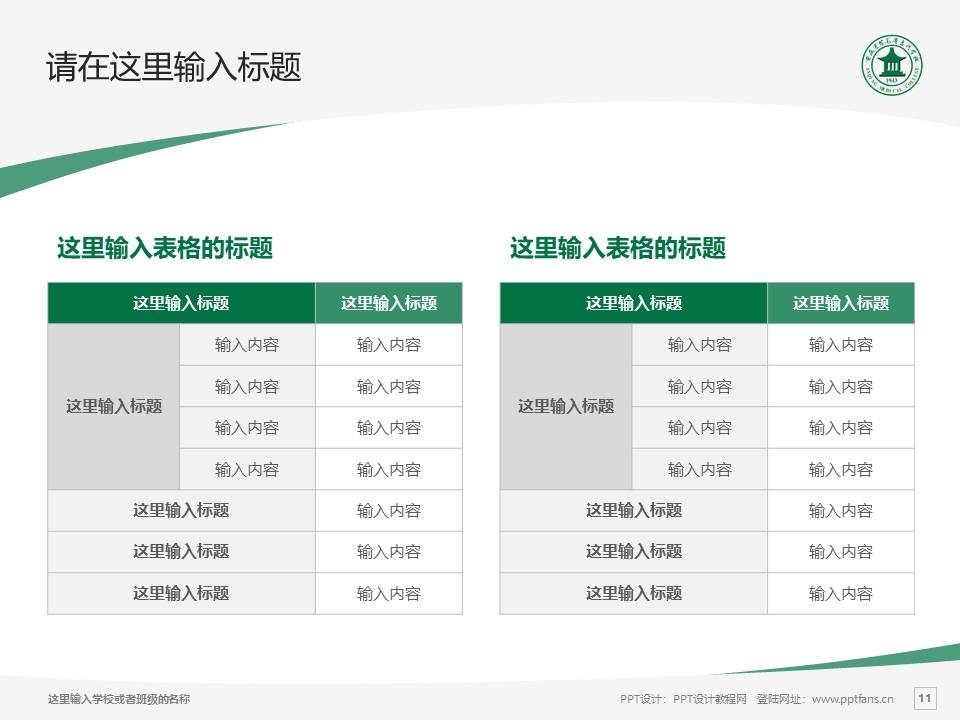 安庆医药高等专科学校PPT模板下载_幻灯片预览图11