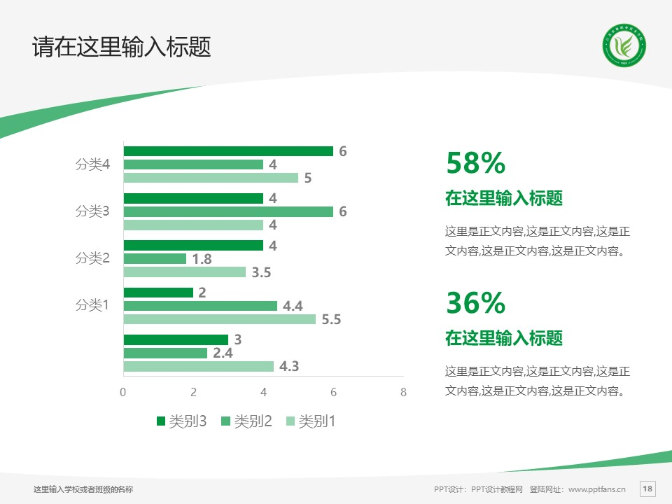江苏农林职业技术学院PPT模板下载_幻灯片预览图18