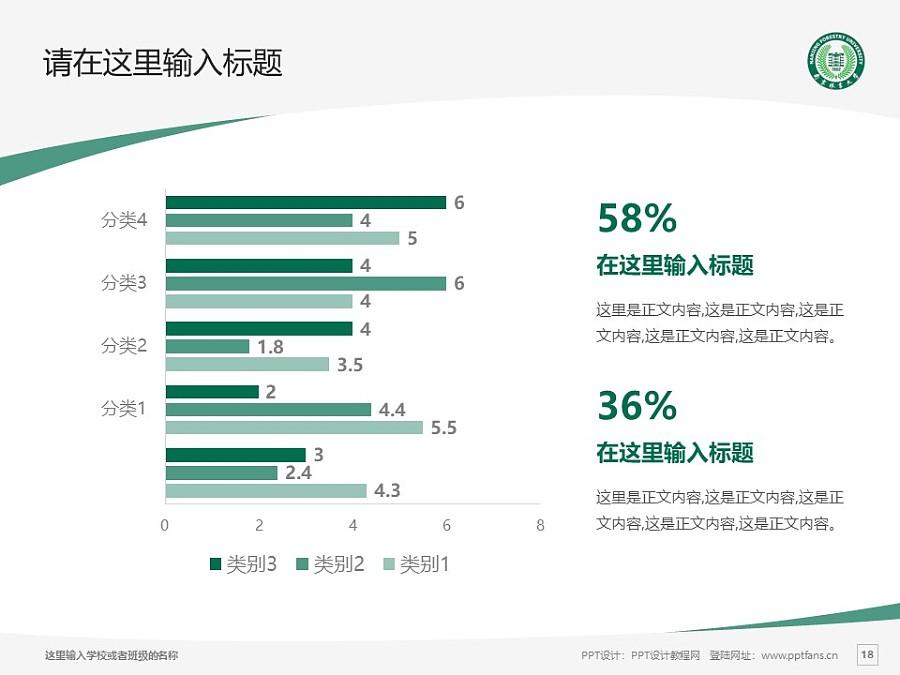 南京林业大学PPT模板下载_幻灯片预览图18