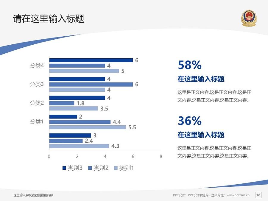 河北公安警察職業學院PPT模板下載_幻燈片預覽圖18
