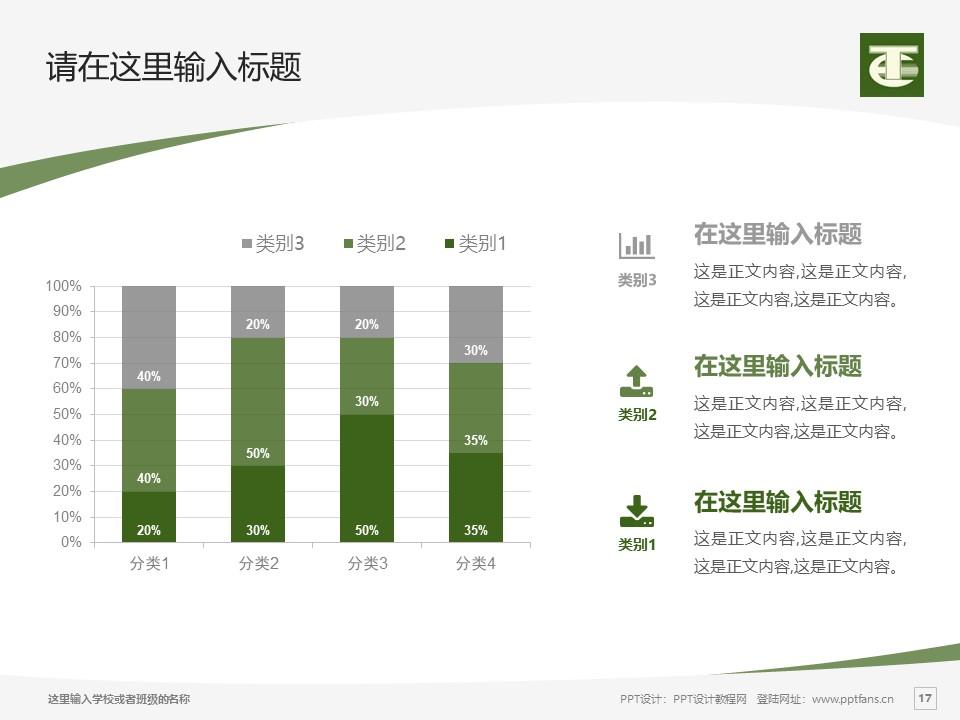 民办安徽旅游职业学院PPT模板下载_幻灯片预览图17