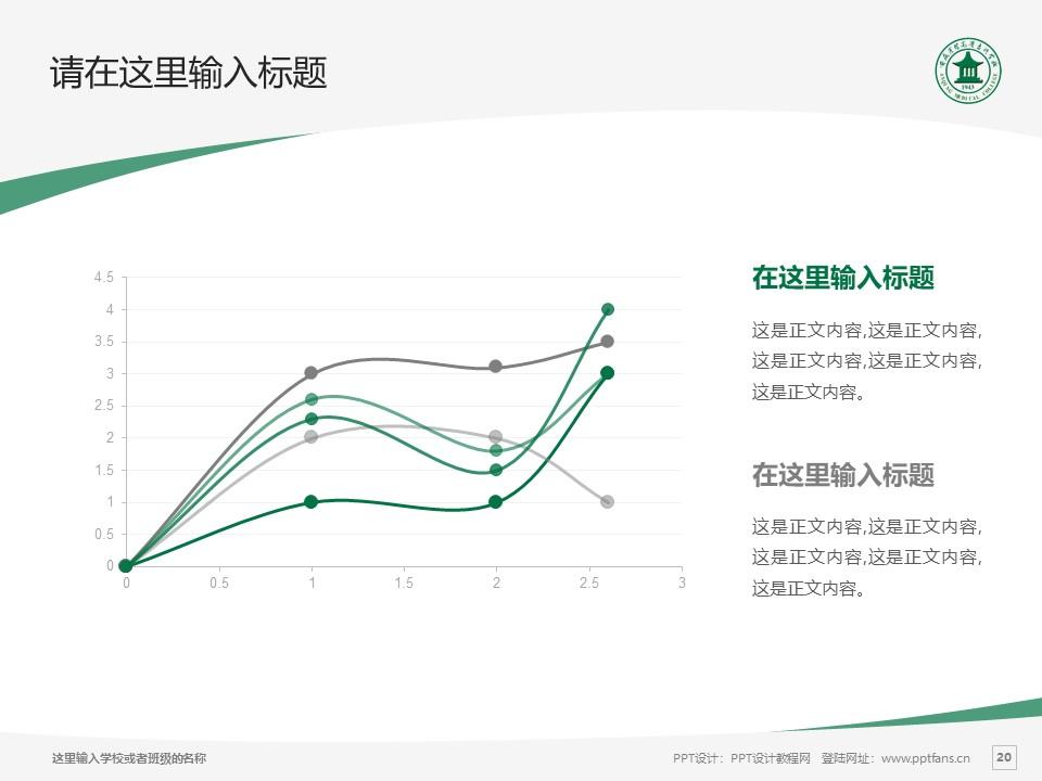 安庆医药高等专科学校PPT模板下载_幻灯片预览图20