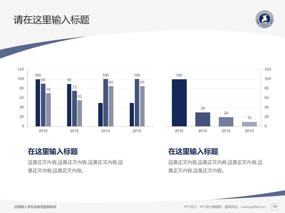 浙江警察学院PPT模板下载_幻灯片预览图15