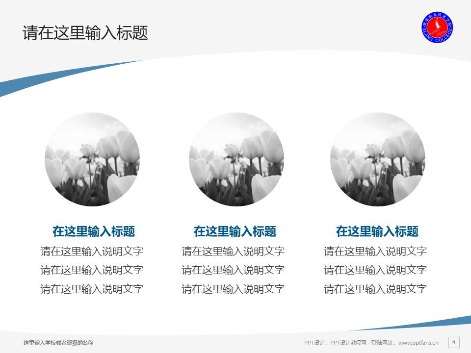 紫琅职业技术学院PPT模板下载_幻灯片预览图4