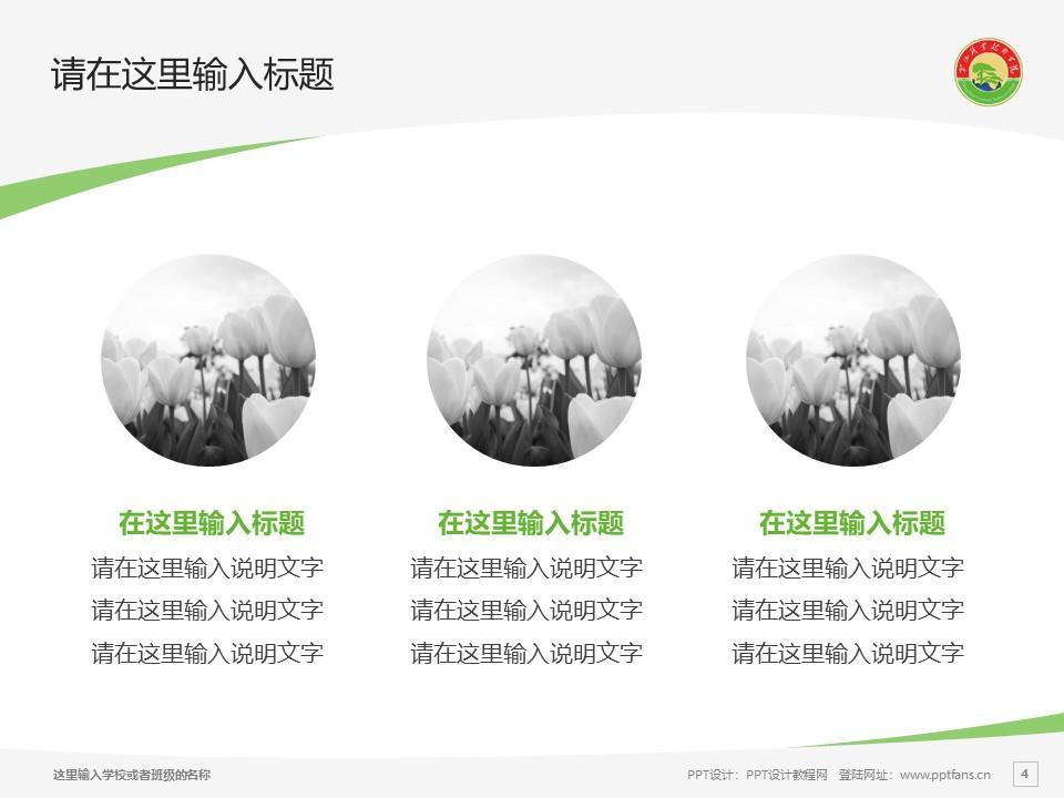 黄山职业技术学院PPT模板下载_幻灯片预览图4