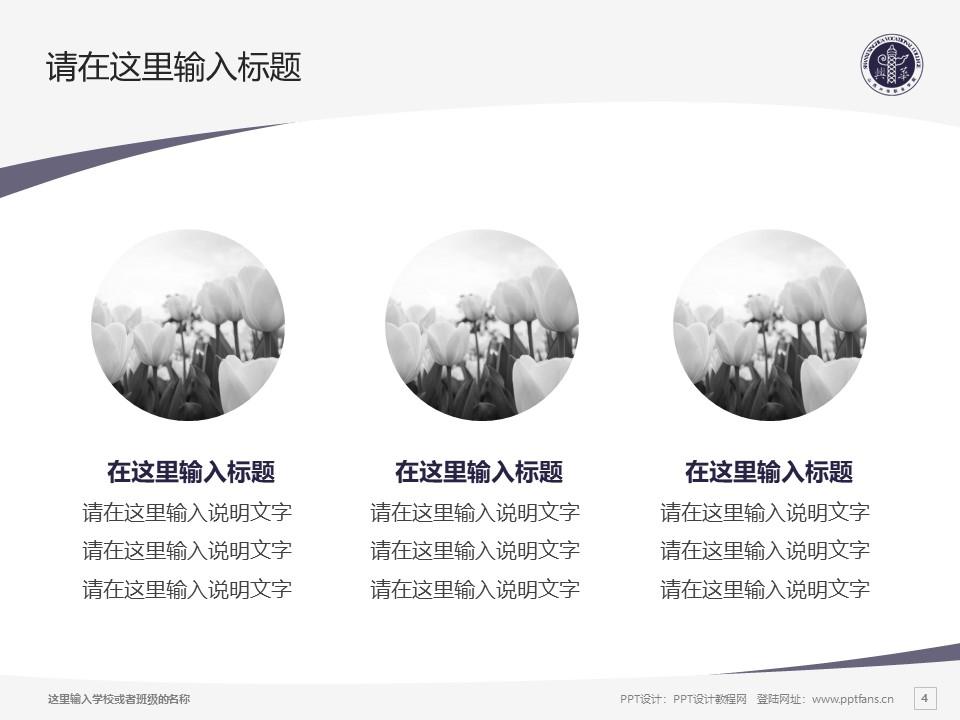山西兴华职业学院PPT模板下载_幻灯片预览图4