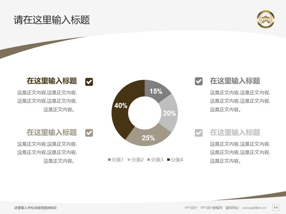 上海电影艺术职业学院PPT模板下载_幻灯片预览图14
