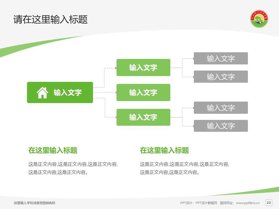 黄山职业技术学院PPT模板下载_幻灯片预览图22