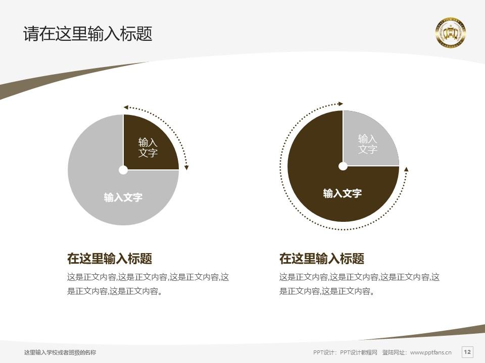 上海电影艺术职业学院PPT模板下载_幻灯片预览图12