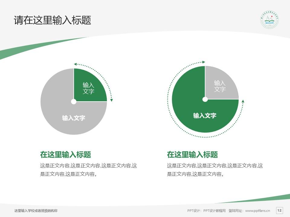 扬州环境资源职业技术学院PPT模板下载_幻灯片预览图12